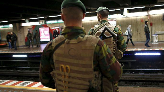Enyhítettek a terrorkészültség szintjén Brüsszelben