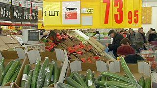 Türk plakalı tırlara Rusya'dan engel