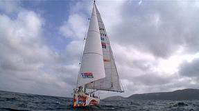 Clipper Round the World Yacht Race: LMAX wins stage three