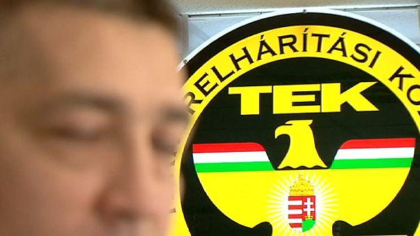 Macaristan'da kafa karıştıran terör operasyonu