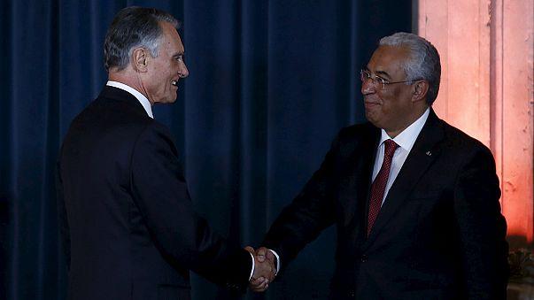Hivatalba lépett az új portugál kormány