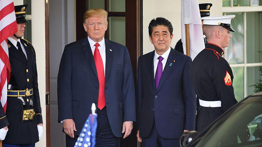 Image: Donald Trump and Shinzo Abe