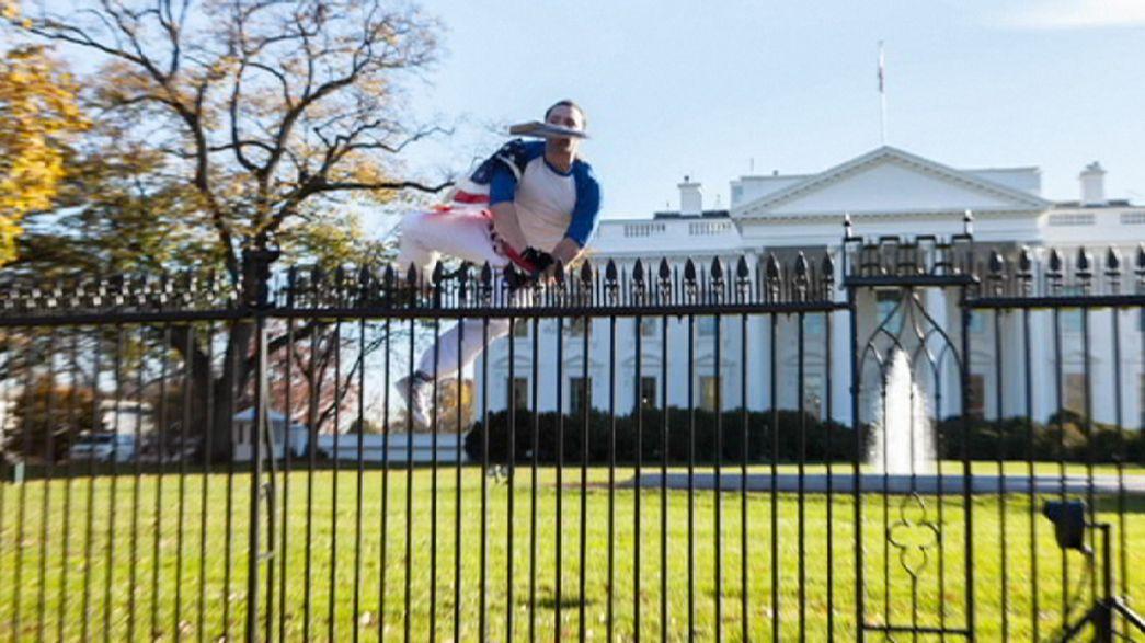 Un hombre se cuela en la Casa Blanca en Acción de Gracias