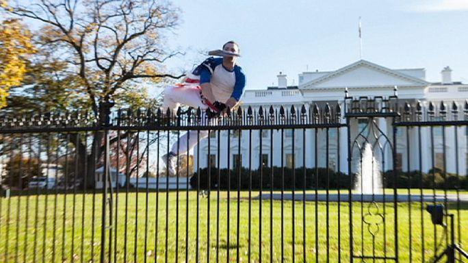إغلاق البيت الأبيض بسبب شخص تسلق السور