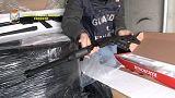 Italian police seize hundreds of rifles bound for Belgium