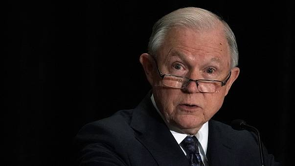 Image: Jeff Sessions Delivers Remarks At Training Conference For Immigratio