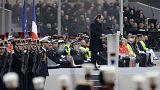 """Hollande promete que """"hará todo lo posible para destruir al ejército de fanáticos que cometió los crímenes"""""""