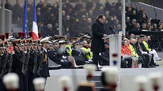 Paris terror victims honoured in national memorial service