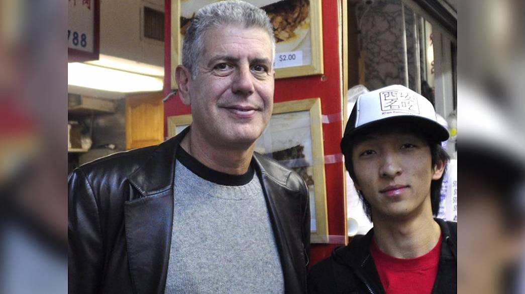 Jason Wang, CEO of Xi'an Famous Foods, remembers Anthony Bourdain