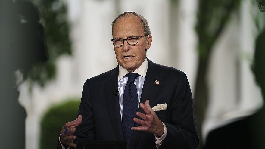 Image: White House chief economic adviser Larry Kudlow