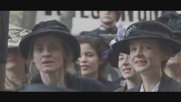 Sufragette - a film which reflects a milestone in British history