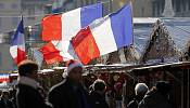 France's flag reminds shaken country what it stands for