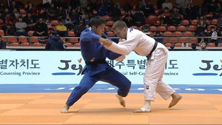 'Día del ippon' en el Gran Premio de Jeju de yudo