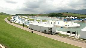 Rio's Olympic whitewater slalom course put through its paces