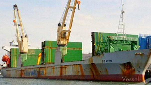قراصنة يخطفون أفراد طاقم سفينة في نيجيريا