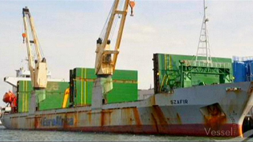 Piratas raptam 5 polacos num cargueiro ao largo da Nigéria