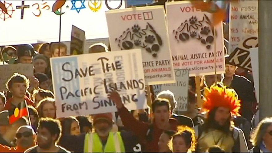"""Всемирный """"марафон"""" защитников окружающей среды стартовал в Австралии"""
