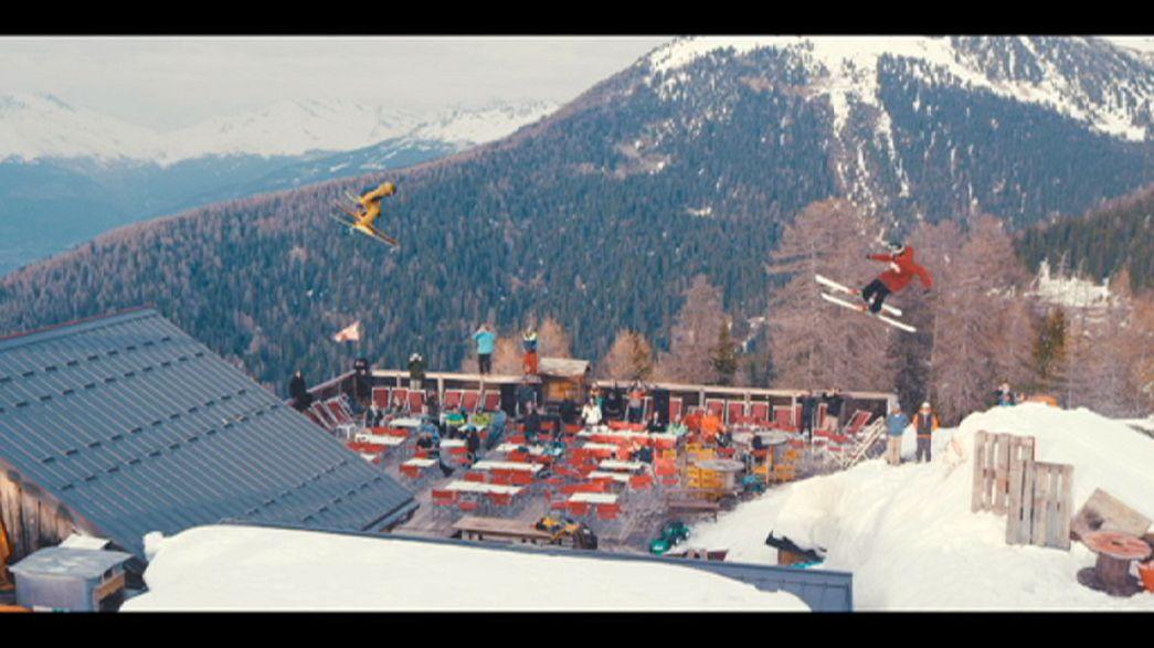 ''Fast Forward'' - skiing short film with a downhill twist