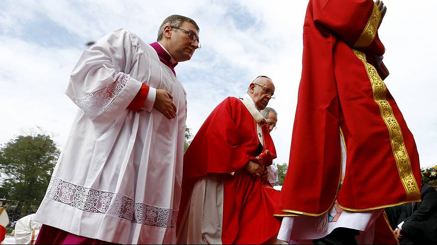 El papa Francisco homenajea a los mártires de Uganda