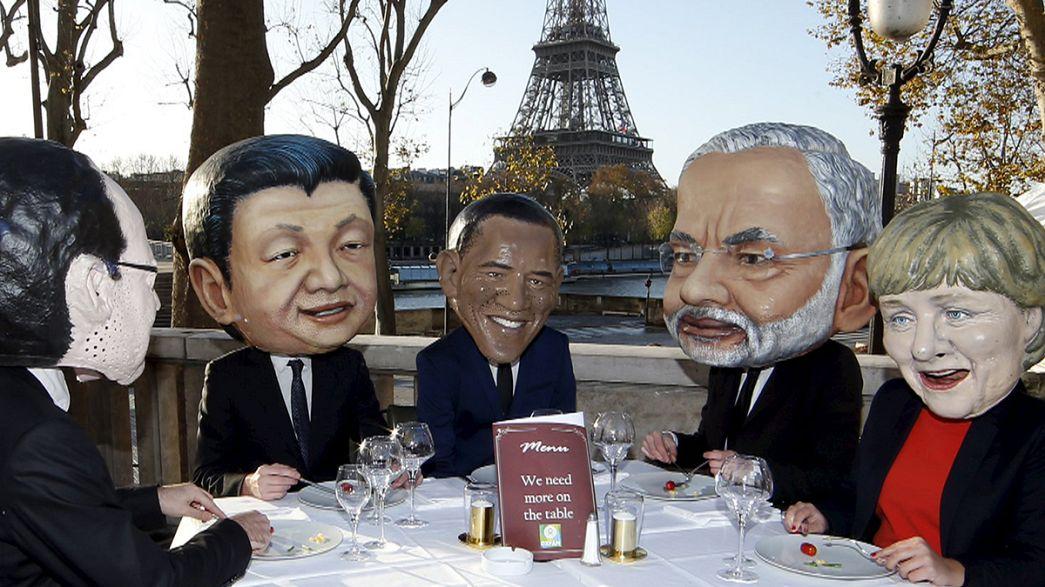 """Cop 21 Parigi: per """"un accordo ambizioso"""" in piazza dal Giappone all'Australia"""