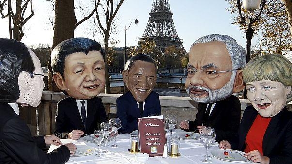 Umweltschützer machen weltweit Druck vor UN-Klimagipfel in Paris