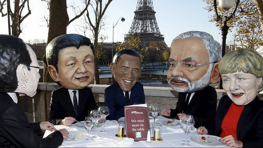 Акции протеста в преддверии саммита: защитить Землю и призвать политиков к ответственности