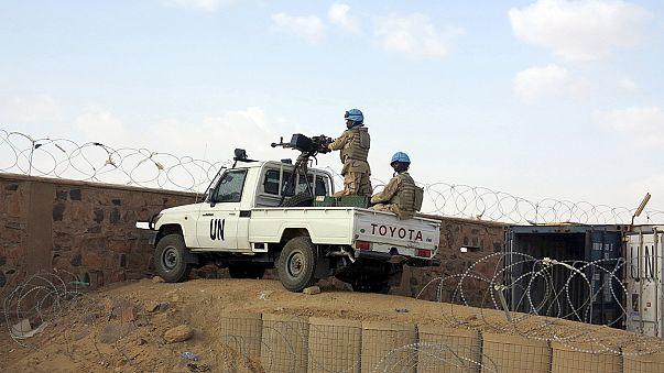 Mali: mueren dos cascos azules guineanos y un civil en un ataque contra una base de la ONU