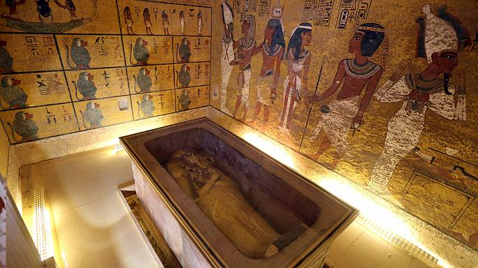 Tutankamon'un mezarında yeni keşif