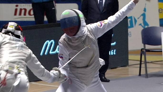 الإيطالية أليس فولبي تفوز بجائزة تورينو الكبرى للمبارزة