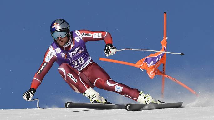 Aksel Lund Svindal shines in Lake Louise