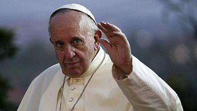 Pope Francis celebrates mass with Ugandan faithful