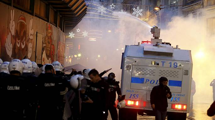 Tahir Elçi'nin ölümünün ardından sokaklar karıştı