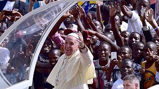 البابا فرانسيس في أوغندا