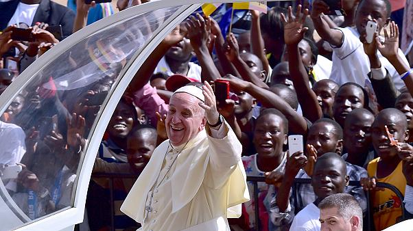 Papa Francis Afrika'da