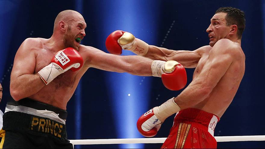 Tyson's glory as Fury defeats Klitschko for the heavyweight crown