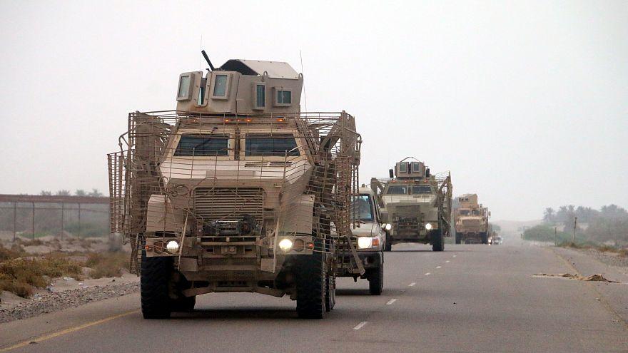 Image: Yemeni forces and Saudi-led coalition send reinforcements toward Hod