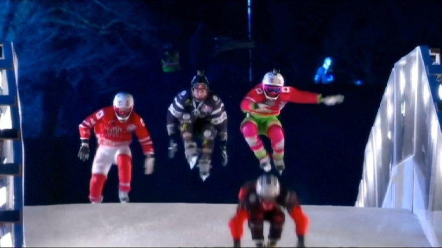 Red Bull Crashed Ice, una carrera que no te deja frío