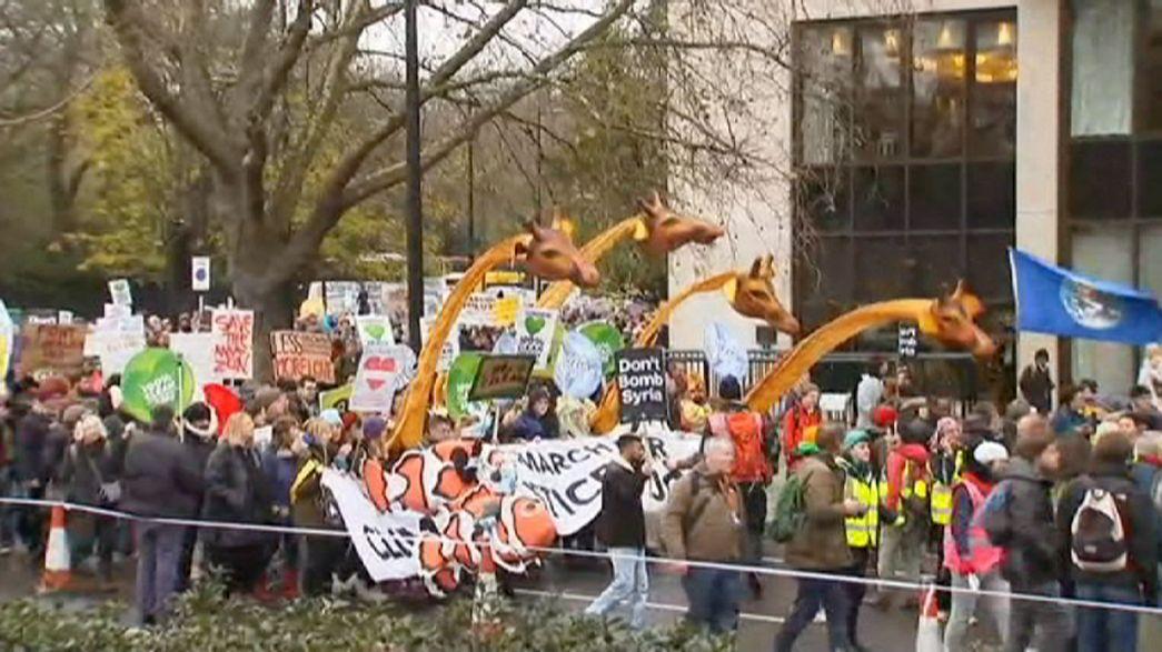 Cientos de miles de manifestantes en todo el mundo piden medidas contra el cambio climático
