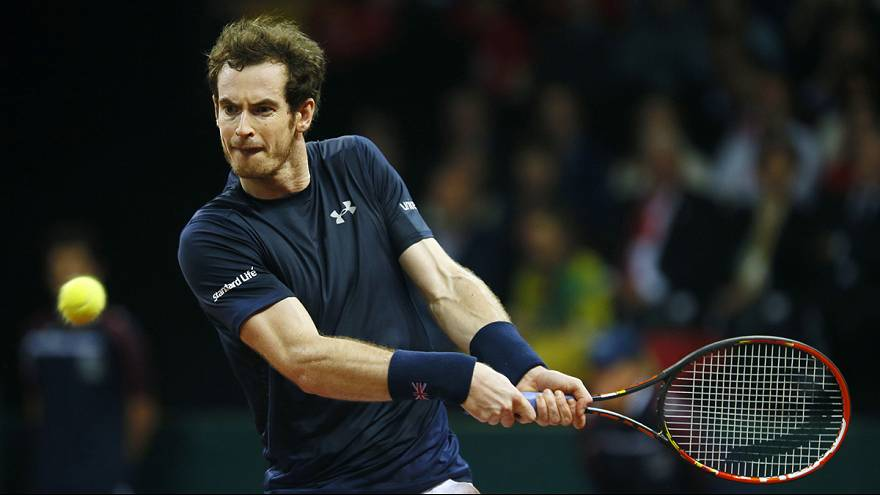 Ténis: Murray leva a Davis para a Grã-Bretanha