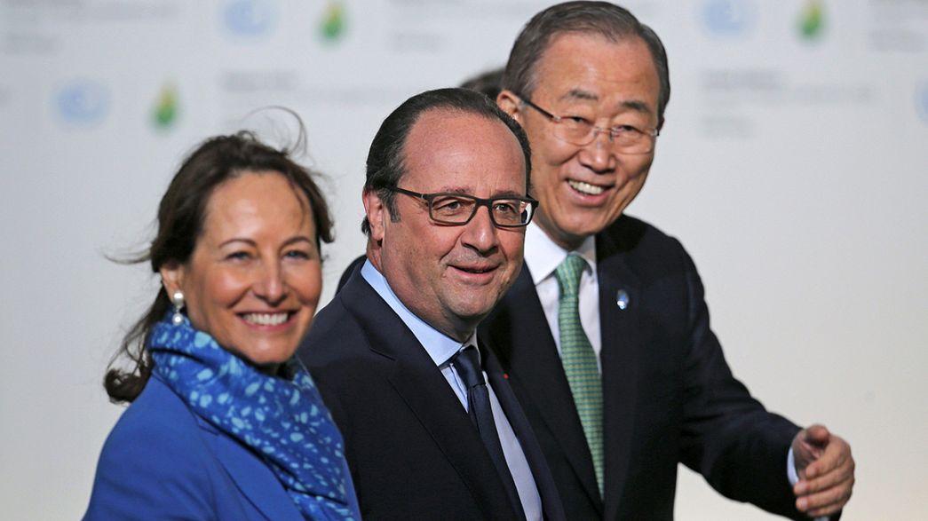 Kezdődik a párizsi klímacsúcs