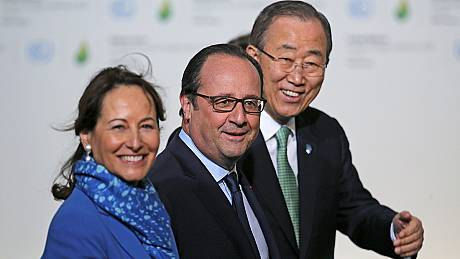 World leaders arrive in Paris to talk tough on climate change at COP21 summit