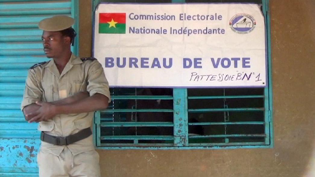 Voters in Burkina Faso choose first new president in decades