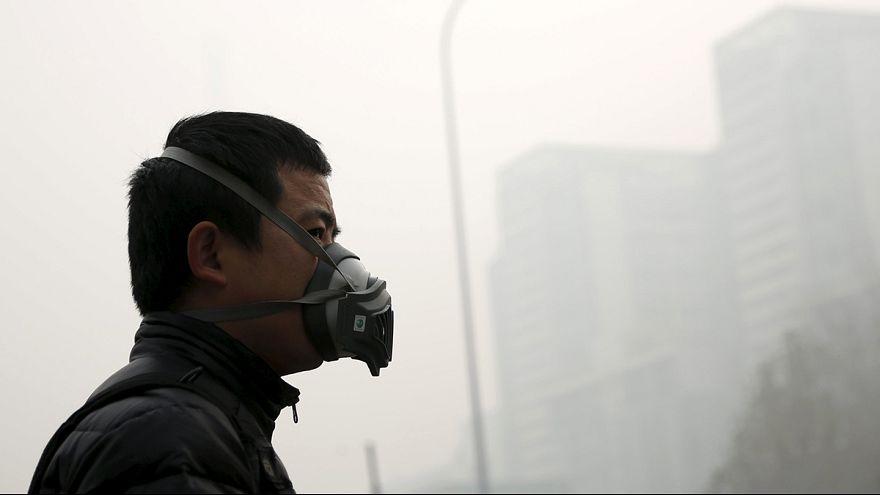 آلودگی هوای پکن در وضعیت هشدار نارنجی