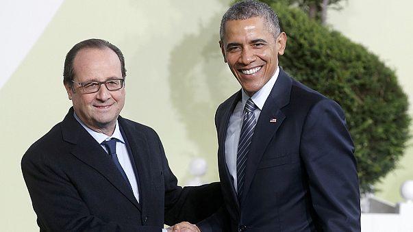 فرنسا: هولاند يستقبل قادة العالم المشاركين في مؤتمر المناخ