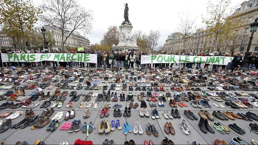 COP21 : des chaussures pour remplacer les manifestants