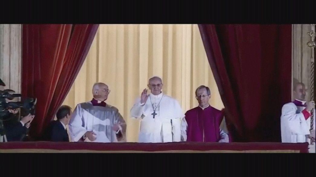 """Estreno mundial de """"Llámenme Francisco"""" en el Vaticano"""
