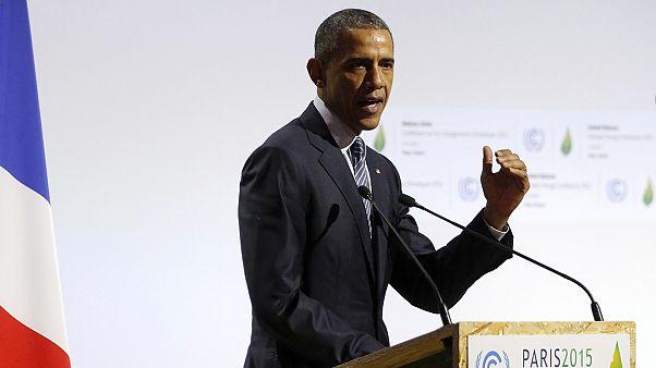 """Obama: """"İklim değişikliğiyle mücadelede üzerimize düşeni yapacağız"""""""