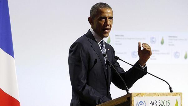 Obama bekennt sich vor dem internationalen Klimagipfel zur Verantwortung der USA