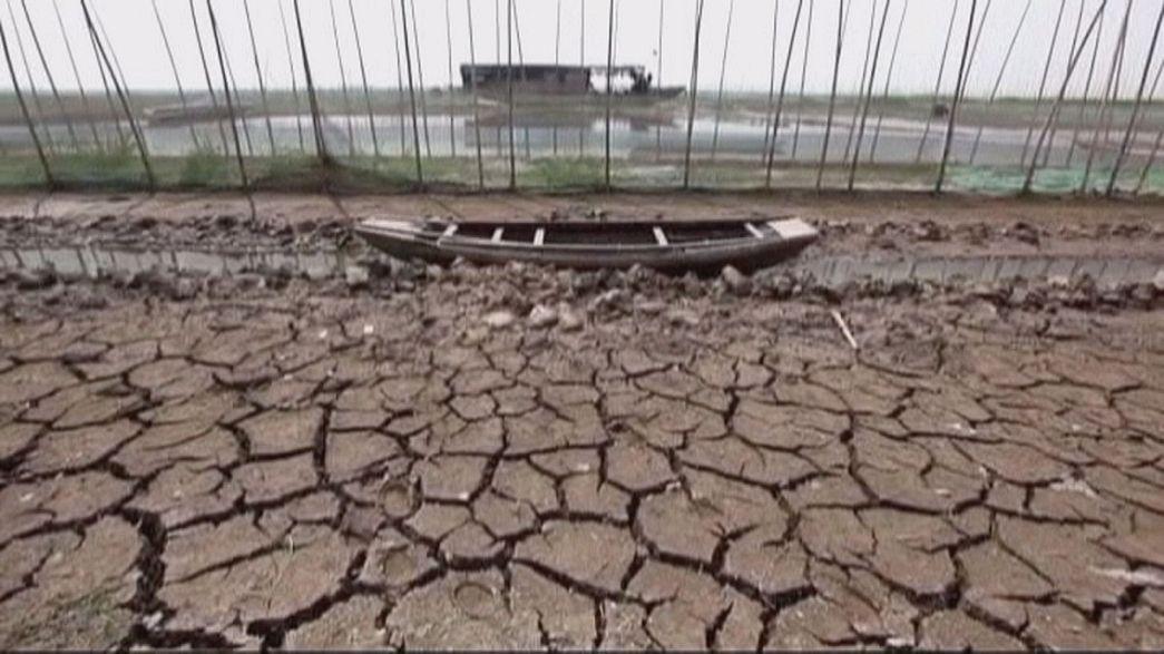 La siccità in Cina