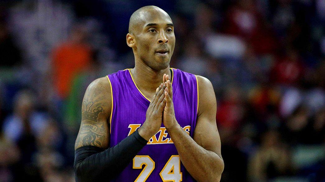 Basket: Kobe Bryant annuncia il ritiro a fine stagione